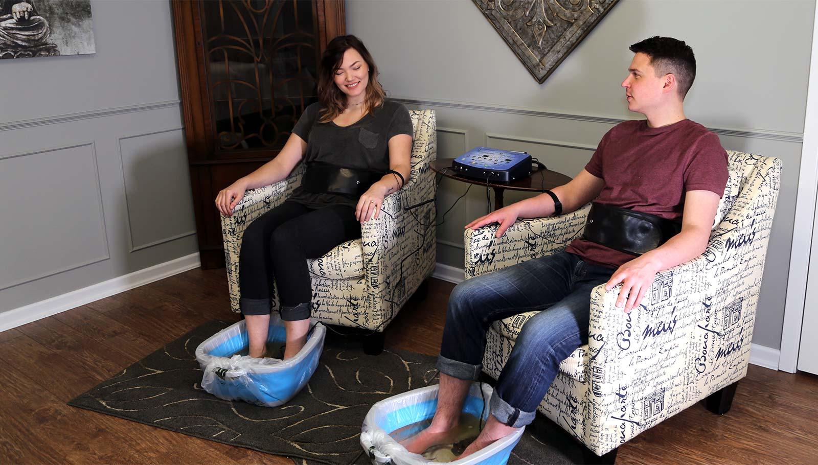 Ionic Detox Footbath
